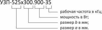 Маркировка ультразвуковых пластин ПСБ-Галс
